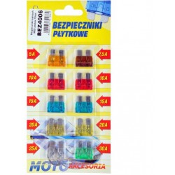 CAR Fuses MIDI set 10 pcs.