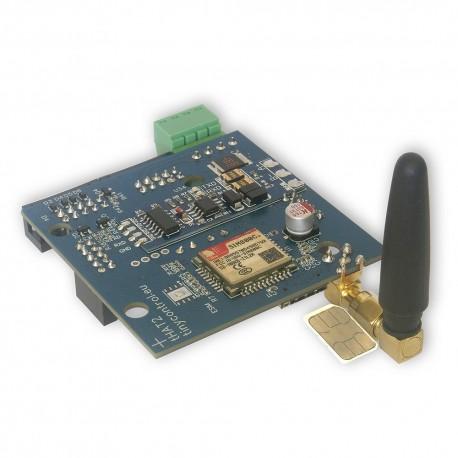 nakładka tHAT2 IDC10 + GSM dla Lan Kontrolera V3.5 HW3.8