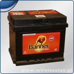 Akumulator kwasowy Banner 12V 62 Ah 480 A