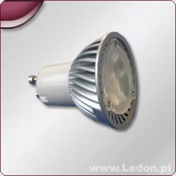 STRONG LED żarówka 3x1W LED GU10 biała zimna 215lm