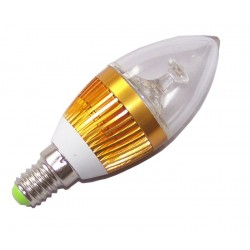 STRONG LED ŻARÓWKA 3X1W LED E14 GOLD