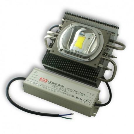 STREET LED LAMP with mount on pole 56W/230V IP65