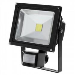 HALOGEN LED 20W 1800lm 230V IP65 z czujką ruchu i zmierzchu