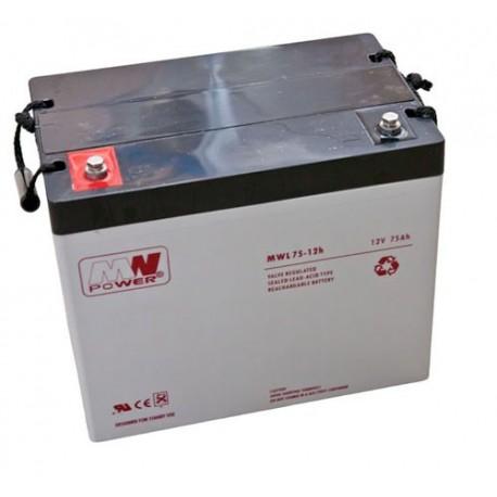 Akumulator MWL power 12V 75Ah