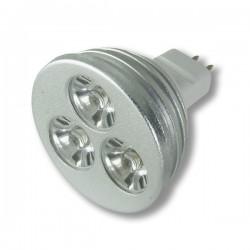 STRONG LED żarówka 3x1W LED MR16 biała ciepła