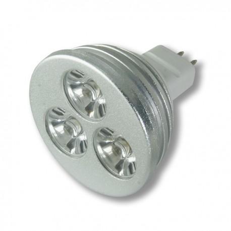 STRONG LED żarówka 3x1W LED MR16 warm white