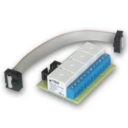 Płytka przekaźników do kontrolera GSM v3/LanKontroler V2 & V1