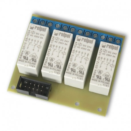 Tile relays to the controller GSM v2
