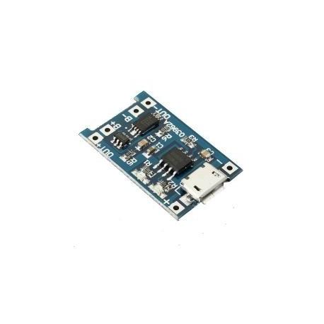 Moduł ładowania akumul. 18650 micro USB