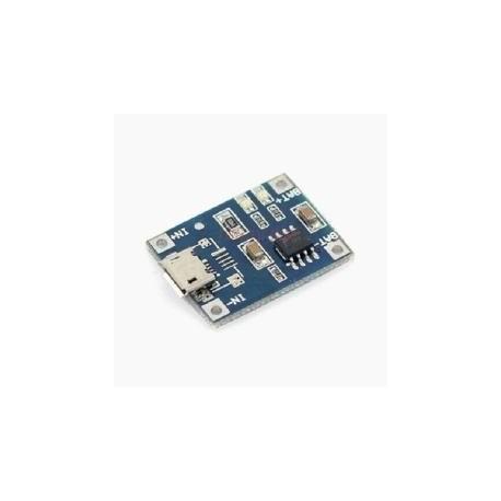 Charging module for Li-Io with micro USB