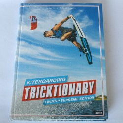 Tricktionary Kiteboarding Kitesurfing książka