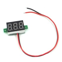Woltomierz LED 3.3-30V DC Czerwony