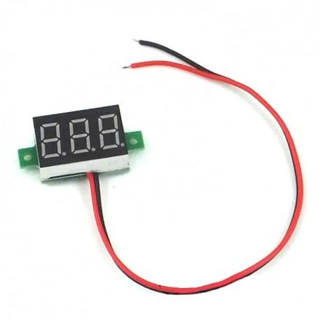 Woltomierz LED 2.5-30V DC