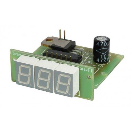 Amperomierz panelowy LED 100A