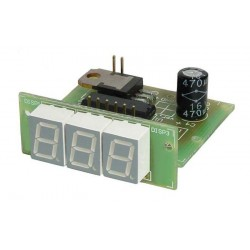 Panel LED ammeter 50A