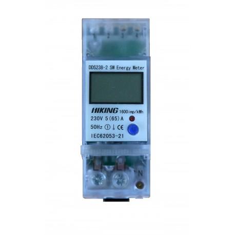 LICZNIK ENERGI DDS238 5(65)A 230V LCD