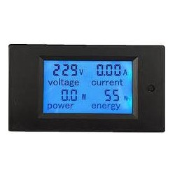 LICZNIK ENERGII 230V AC 4w1 (U, I, P, E) LCD MIK-021