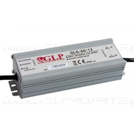 ZASILACZ LED GLG-60-12 12V 5A 60W