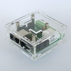 CLEAR HOUSING LanKontrolera V2 / GSM V3