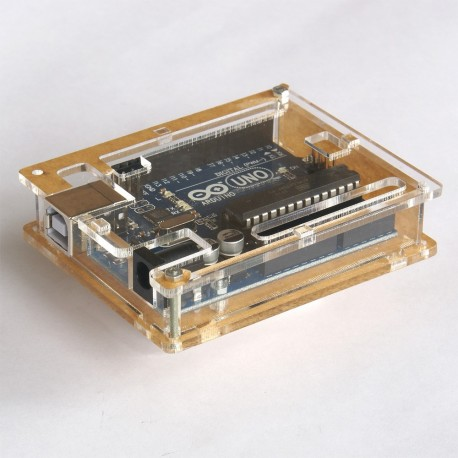 CASE CLEAR FOR ARDUINO UNO