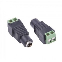 DC Power Jack Connector Plug 2.1 / 5.5 mm female