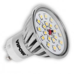 żarówka LED 4W (20x2835 SMD) GU10 biała ciepła 420 lm