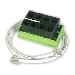 Splitter RJ11/RJ12 1Wire/I2C for sensor for LK2 / LK3