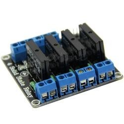 Four channel SSR relay module OMORON