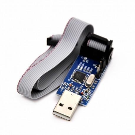 USB asp Programator + taśma IDC
