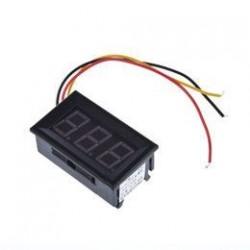Voltmeter LED 100V DC