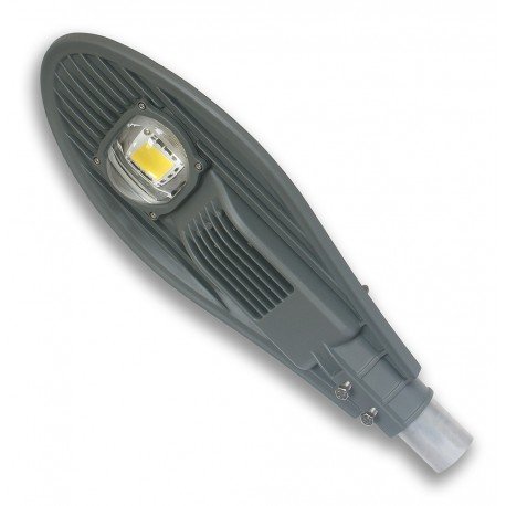 STREET LED LAMP with mount on pole 56W/24V DC IP65