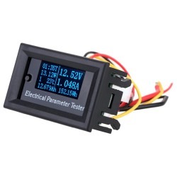 Miernik parametrów elektrycznych OLED 7-in-1 10A