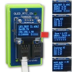 MODUL LK3 OLED/RTC/I2C Blue Expansion