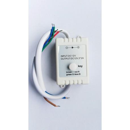 Sterownik TAŚM RGB LED 1-KEY