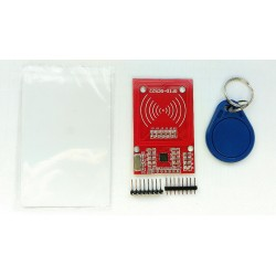 Moduł czytnika RFID RC522 13,56Mhz Mifare Arduino RED