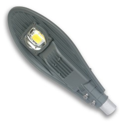 STREET LED LAMP with mount on pole 50W/24V DC IP65