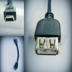 PRZEJŚCIÓWKA USB 2.0 NA MINI USB Kabel OTG