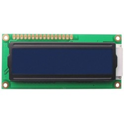 LCD DISPLAY V2 1602 80x36mm blue backgroud light