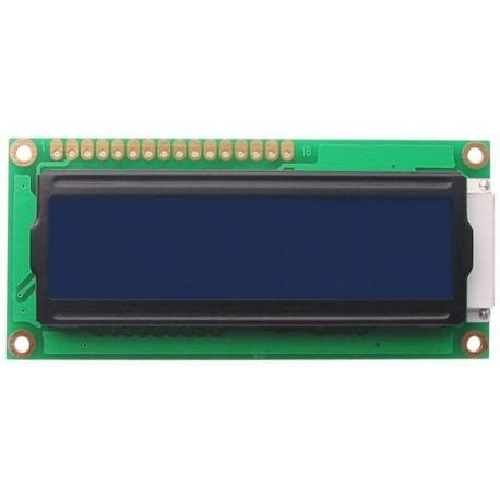 LCD DISPLAY 2x16 80x36mm blue backgroud light