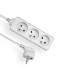 Power strip 3 sockets 3m