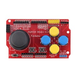 Gamepad Joystick Shield Simulated Keyboard Mouse Board for PS2 Arduino