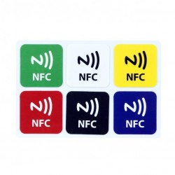 NFC NTAG216 NFC TAG color ( set 6pcs)