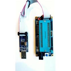 USB asp programmer + IDC tape + DIL