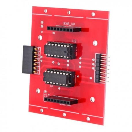 Moduł sterowania matrycą LED 8x8 RED do Arduino