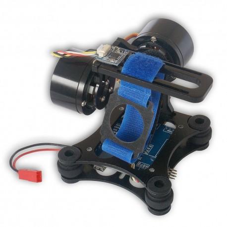 Gimbal 2-osiowy z kontrolerem BASECAM do kamer GoPro,SJCAM