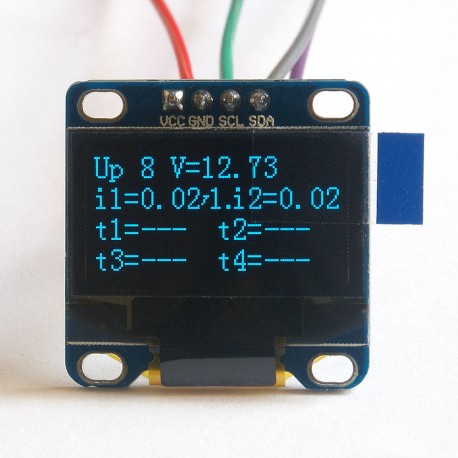"OLED 1,3"" I2C SERIAL Blue Display Module"