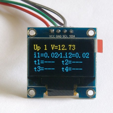 "OLED 0.96"" I2C SERIAL Yellow Blue Display Module LK3"