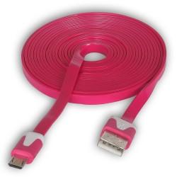 Kabel USB - microUSB różne kolory