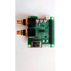 DAC ES9023 dla Raspberry PI RCA