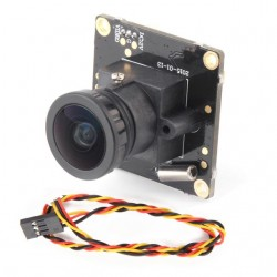 HD 700TVL Sony CCD OSD D-WDR Mini CCTV PCB FPV Tiny Wide Angle Camera 2.1mm Lens PAL